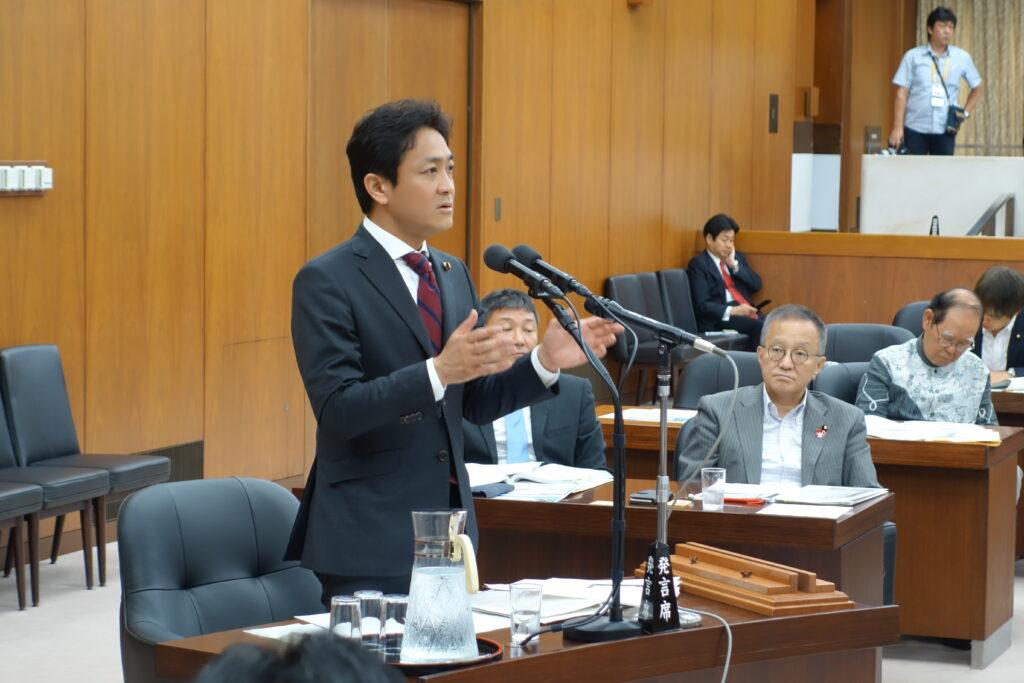 安全保障委員会で北朝鮮問題について質問